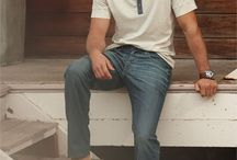 Mens Basic Wardrobe Fashion / Great fashion ideas with items you might already have in your wardrobe.