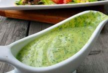 Salate, Dressings und Dips