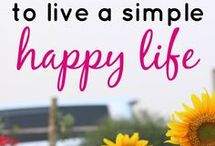 Simple Living / Ah, the simple life.  What makes a life simple anyways?  Tips, inspiration, ideas, and thoughts on living more simply.  Simple Life equals a happy life.