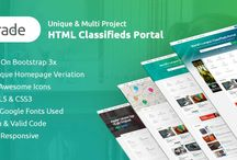 HTML Template / The free website templates that are showcased here are open source, creative commons or totally free. These free CSS HTML templates can be freely downloaded.