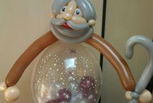 Stufballon kado in ballon / Stufballon kado in ballon