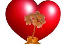 coeur caramel
