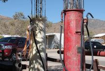 gas pumps / by Ron Moyers
