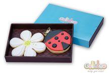 Primavera / Flores, mariposas, tulipanes y mariquitas comestibles...cómo es posible? Todo está en nuestras galletas!