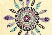 Mandala symbol / The holy circle!