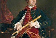klavecimbelspelers 18e eeuw