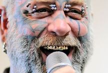 Scary's Shows / The Scary Guy doing shows eliminating hate, violence and prejudice worldwide.