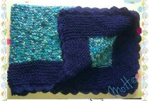 ✿Tricot & Crochet✿ / These are my #knitting and #crochet work