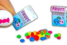 miniatures fruit candy