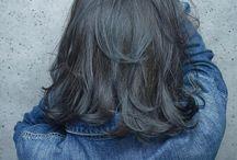 髪色 暗め