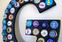 Pop A Top Again... / Beer Bottle Cap and Bottle Crafts