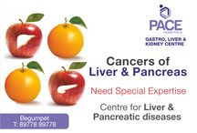 Liver and Pancreas cancer / Liver & Pancreatic cancer is difficult to diagnose, and the diagnosis is often made late in the course of the disease. Symptoms of pancreatic cancer in its late stage include weight loss and back pain. In some cases, painless jaundice may be a symptom of early, operable pancreatic cancer.