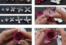 fiori c/Portauova cartone