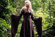Space Nun / Flamboyantly Serene (TM) Fashion Concept Board
