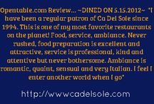 Reviews / by Ca Del Sole