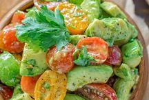 Salaattivalikoimaa