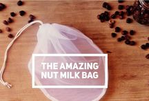 The Amazing Nut Milk Bag / This is the original *AMAZING* NUT MILK BAG designed by Elaina Love. These are the highest quality nut milk bags you will find anywhere...guaranteed!