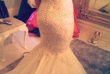 A. Wedding dresses -mermaid