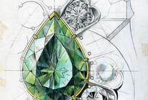 jewel sketch