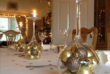 Christmas table glamour
