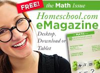 Homeschool.com Magazine - Math Issue / FREE Math E-Magazine / by Homeschool.com