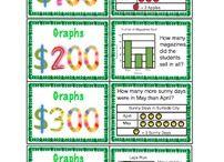School - Math: Graphing / by Stephanie Pudlowski
