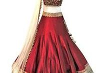 Unique Lehenga Designs / Best collection of lehengas only on - http://bit.ly/1NGcI3k