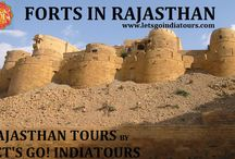 FORTS IN RAJASTHAN / http://letsgoindiatours.blogspot.in/2016/02/forts-in-rajasthan.html