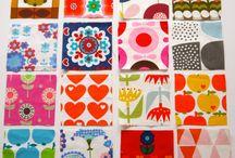 Retro 70's fabric