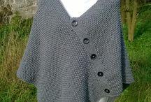 Moje výrobky - pletení, háčkování
