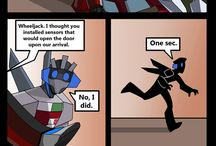 TF stories / Maaaany Transformers stories. Short ones :D