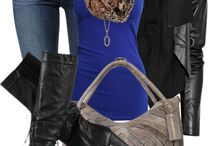 Blue dress, outfit, accesories