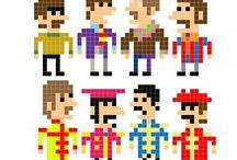 Hama Beatles Perler Beads