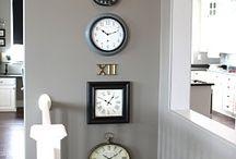 Tick Tock / Decorating with clocks.