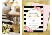 Wedding White Blank & Gold
