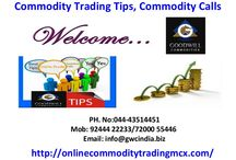 Commodity Trading Tips, Calls & Technical Analysis / Looking for Commodities Trading Tips, Technical Analysis & Calls? Please, Contact Goodwill Commodities for Daily commodities market tips.