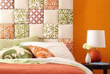 Inspiração: Quartos de Casal / Inspiração de decoração para quartos de casal.