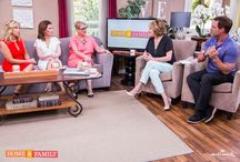 "Hallmark's ""Home & Family"" / On May 19, I had the opportunity to be on Hallmark Channel's ""Home & Family"" to talk about National Foster Care Month, cook my apple pancakes, decorate for a tea party, and much more. I returned on September 15 for more fun."