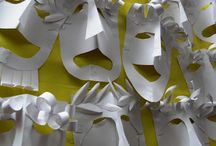 Greek paper masks