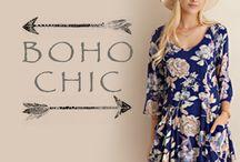 Boho Chic / Bohemian inspired styles