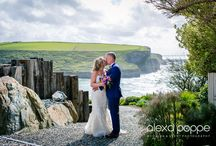 Scenic Cornish Wedding Photographs / Cornwall never fails to provide a stunning backdrop for your wedding photographs. Here are a few of our favourites of our own clients weddings.