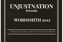 Wordsmith 2015 / This event is about people who aspire to become writers, authors and if not that, just let us say its for people who just love to write. This event is starting off as a competitive event, which is covering lots of categories, e.g, political issues, movies, trending news. :  There would be 3 winners from each category, and the winners will get a chance to get their articles published in a media magazine and a chance to work with us as a content manager.