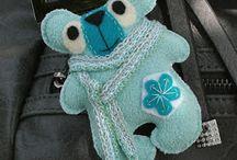 Toys (crochet, knitting, sewing, felt)
