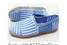 обувь crochet