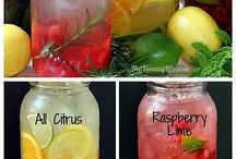 Mason jar drinks and crafts