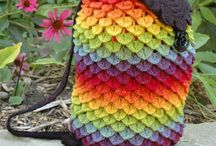Crochet bags/ backpacks