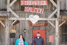 Firehouse Saloon - Engagement Sessions / All photos are of real engaged couples taken by Stacy Anderson Photography at Firehouse Saloon in Houston ,Tx.