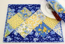Table mats & Mug Rugs Quilted