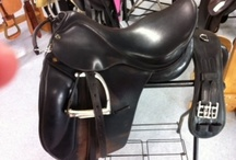 Saddles / by Puddle Duck Creek Tack