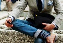 Men's Fashion / by Elizabeth Gilbertson